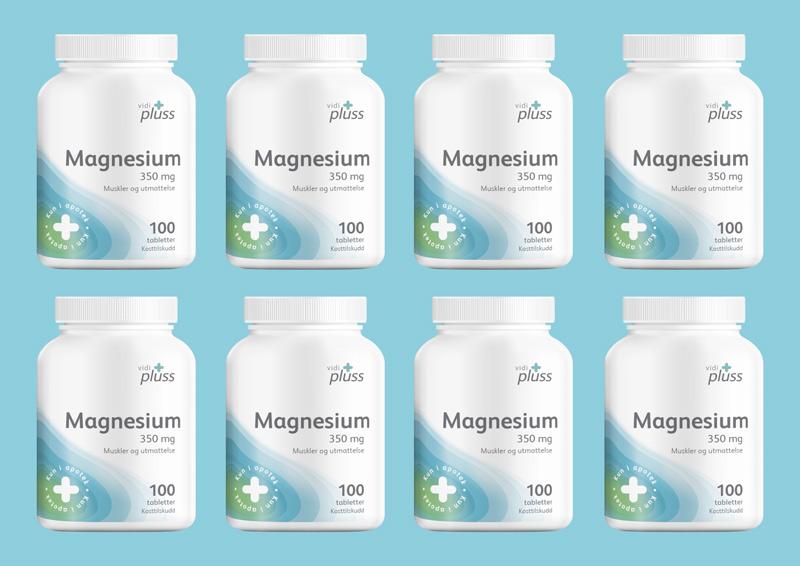 Vidi Plus Magnesium Vitamin Packaging