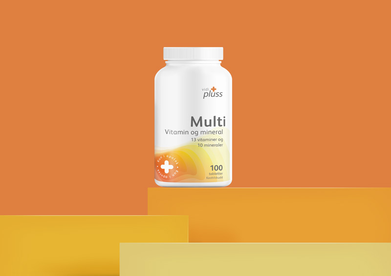 Vidi Plus multi Vitamins Packaging